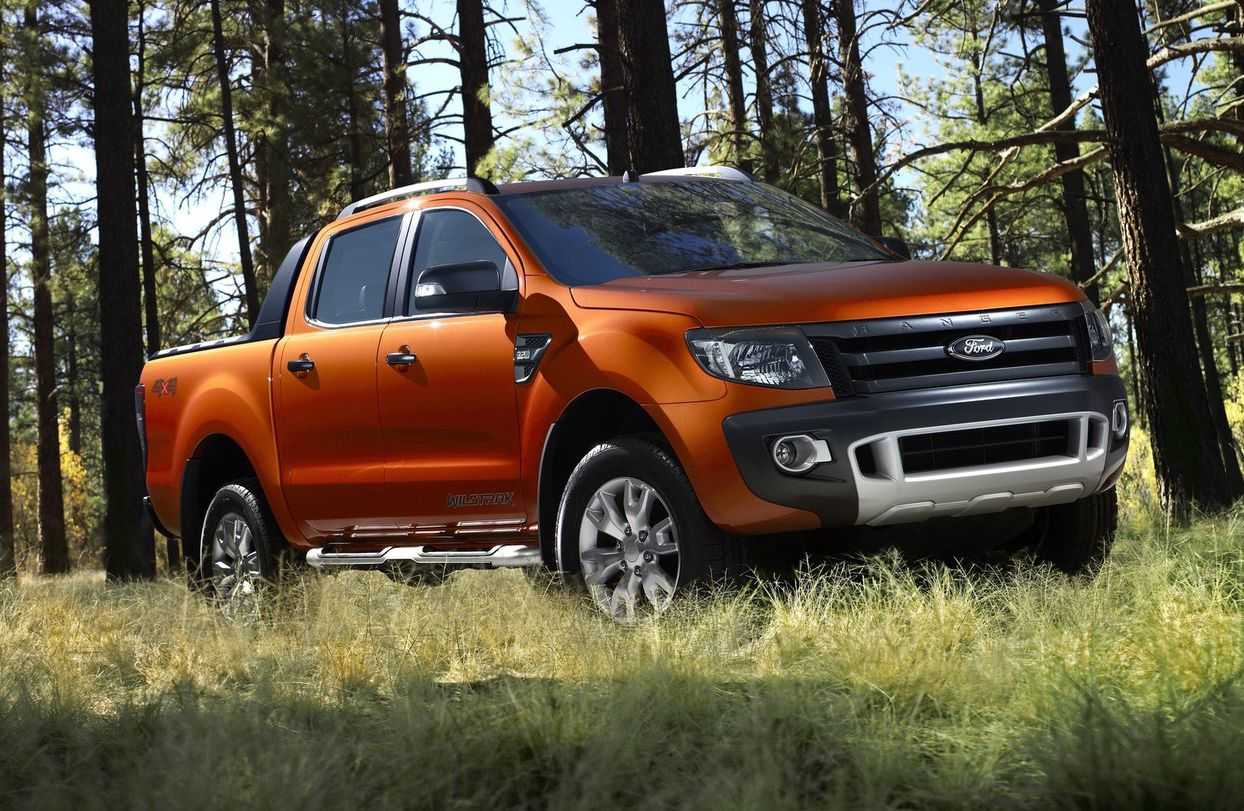 Ford ranger wildtrak_australia