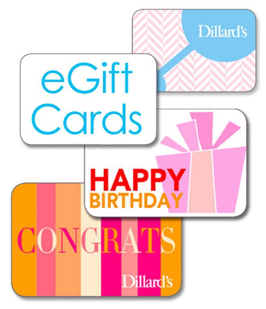 Dillard egift card dillards credit card companies