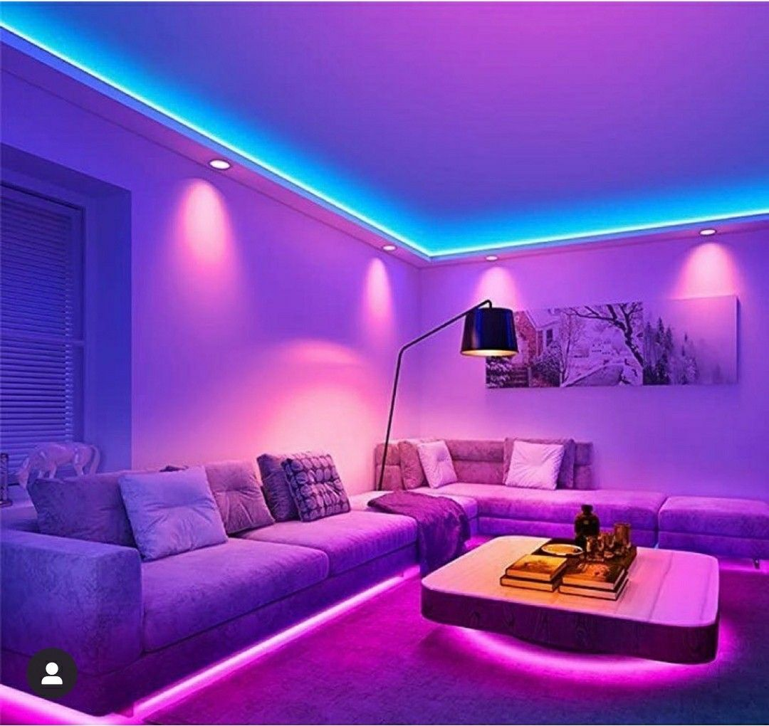 Game Room Entertainment In 2020 Led Lighting Bedroom C