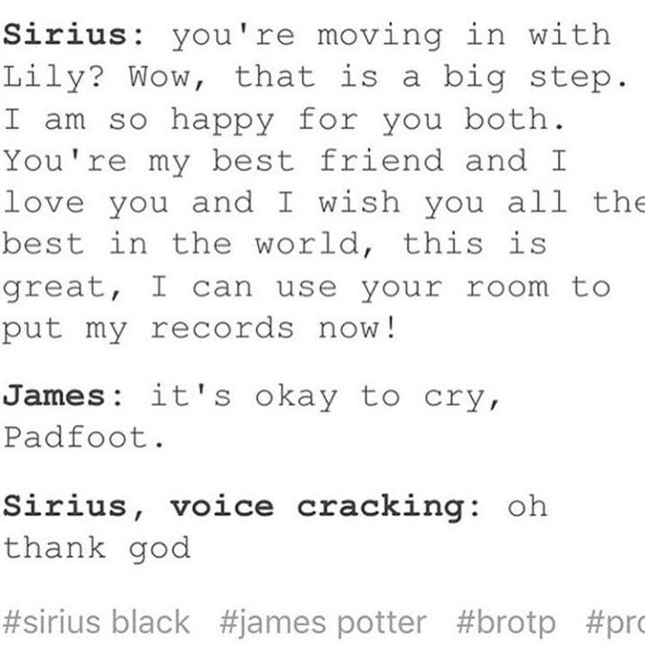 Sirius/Ben James/Cy (when Cy moves in with Nat)