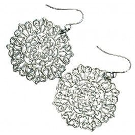 Clean Spirited | Jewelry | Earrings | Starfish Project Gunmetal Lattice Earrings #fashiontakesaction #fairtrade