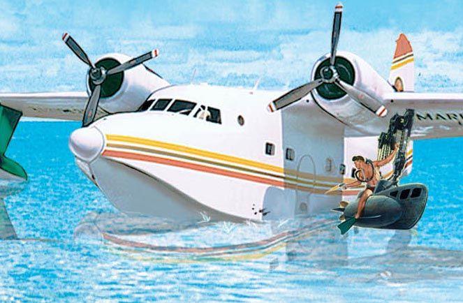 hemisphere dancer  Dream  Flying boat Sea plane Float