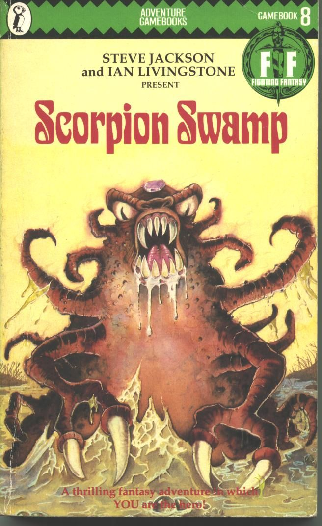 Pin By Black Pudding On Rpg Wg Gamebooks Solo Fighting Fantasy Books Horror Book Covers Fantasy Books