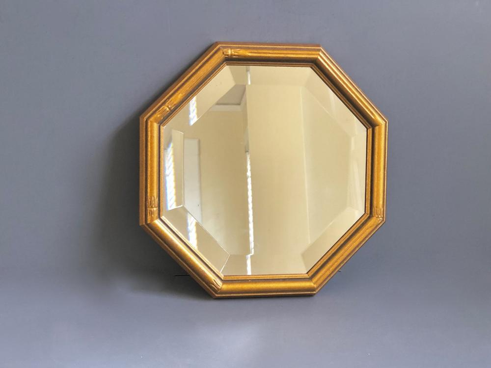 Gold Octagon Beveled Mirror Small Decorative Mirror By Etsy In 2020 Beveled Mirror Mirror Mirror Decor