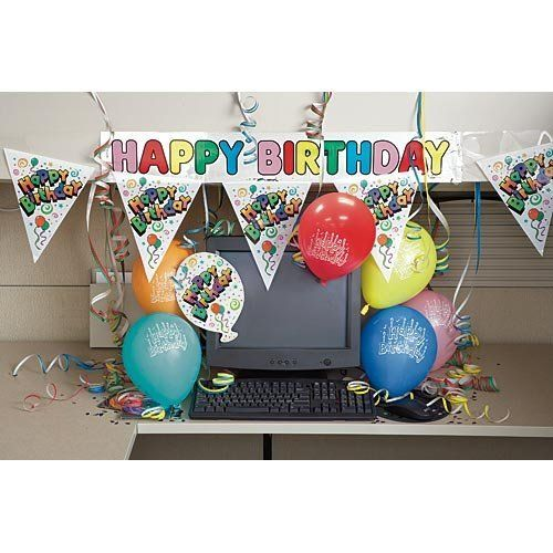 Pin de michelle gf en office birthday pinterest for Decoracion de oficinas creativas