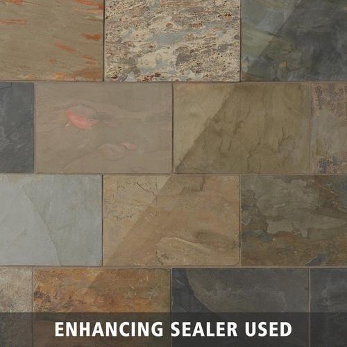 Indian Creek Slate Tile Floor Decor Slate Tile Slate Flooring Flooring