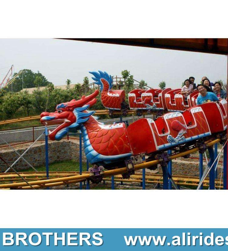 carnival rides dragon rides roller coaster dragon slide for sale