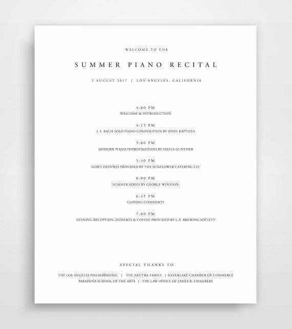 image about Printable Event Program Template named Party Software Template, Computer software Template, Function Application