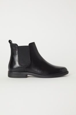b4464a2ef0b Leather Chelsea Boots