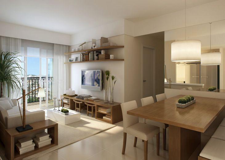 Moveis modulados sala pequena pesquisa google home for Salas de apartamentos modernos