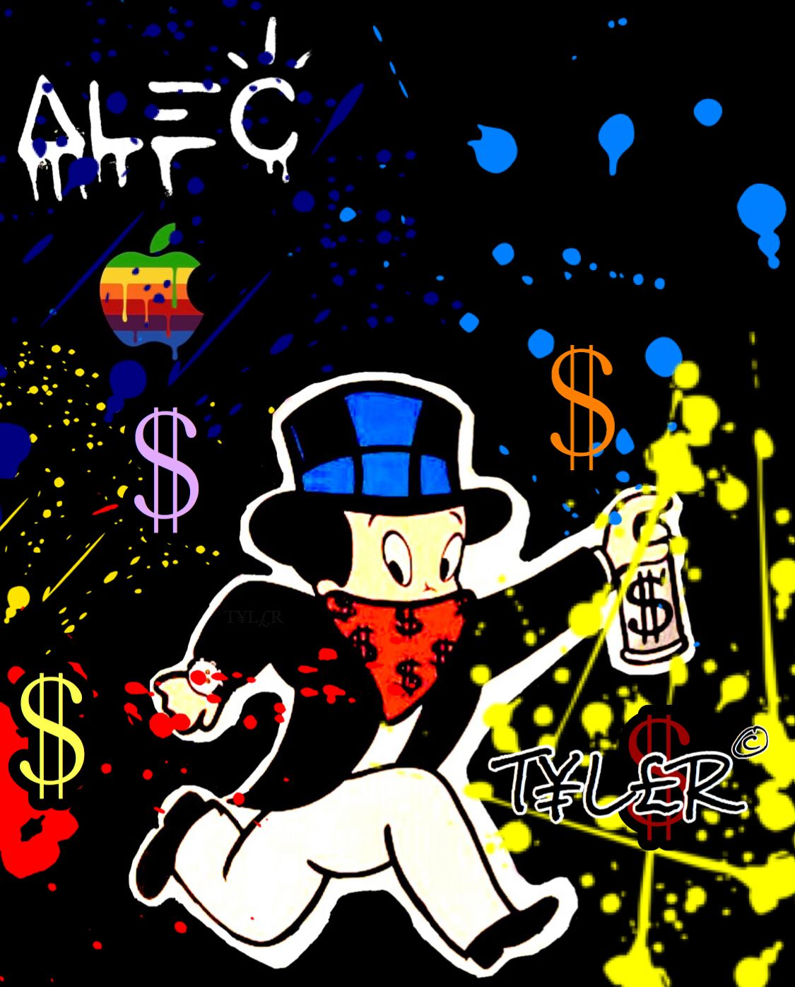 Alec Monopoly Inspired Wallpaper Created By T L R C For Apple