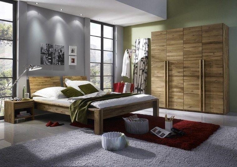 Tipos madera perfectos para muebles 66 armarios modernos | Mi casa ...