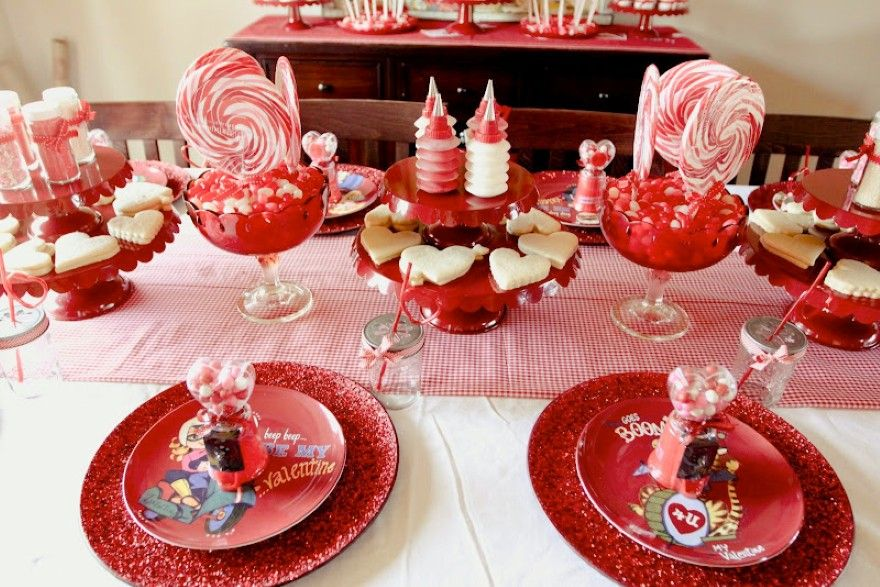 Nice Valentines Day Dinner Party Ideas Part - 1: Cutest Kids Valentine Cookie Decorating Party From Jenny Cookies