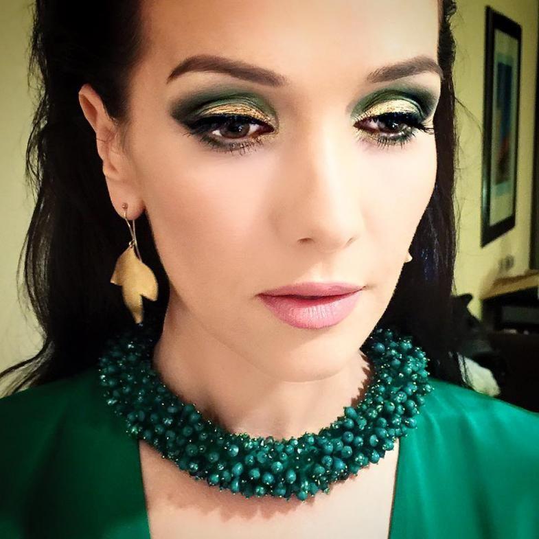Vestido verde natalia oreiro