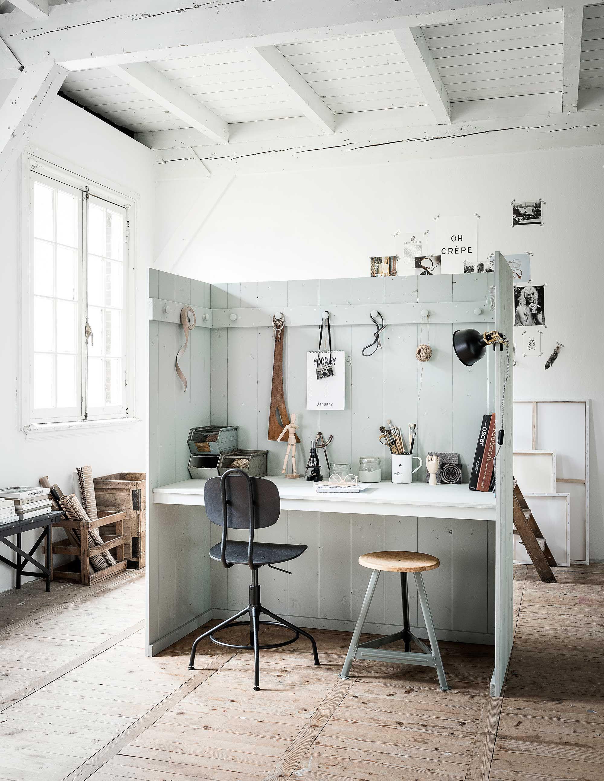 diy multifunctionele priv werkplek diy multifunctional private workspace vtwonen 09 2017. Black Bedroom Furniture Sets. Home Design Ideas