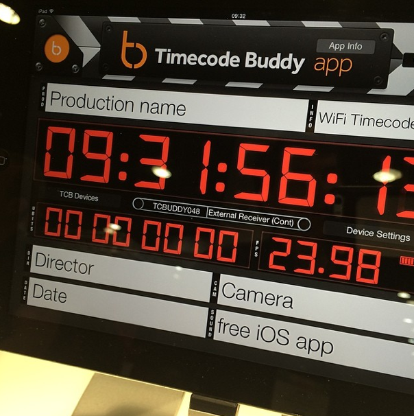 Wireless Time Code solution with iPad control very cool