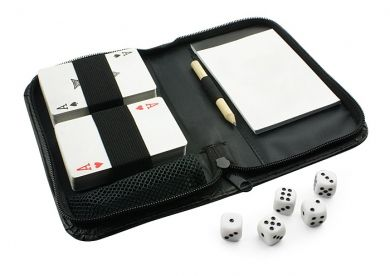 Zestaw Gier W Etui Karty Kosci Notes 5439959329 Oficjalne Archiwum Allegro Wallet Trifold Items