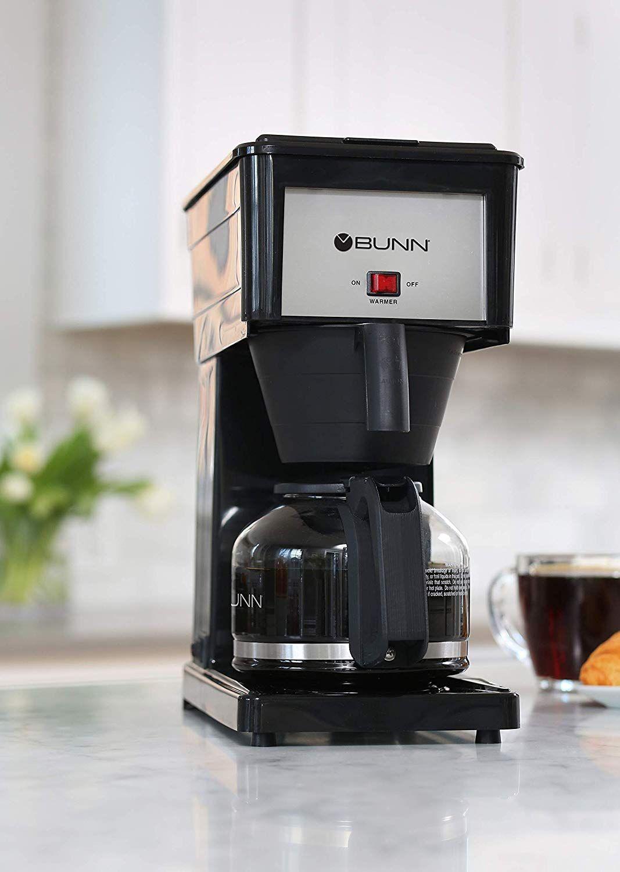 Amazoncom Bunn Grb Velocity Brew 10 Cup Home Coffee Brewer Black