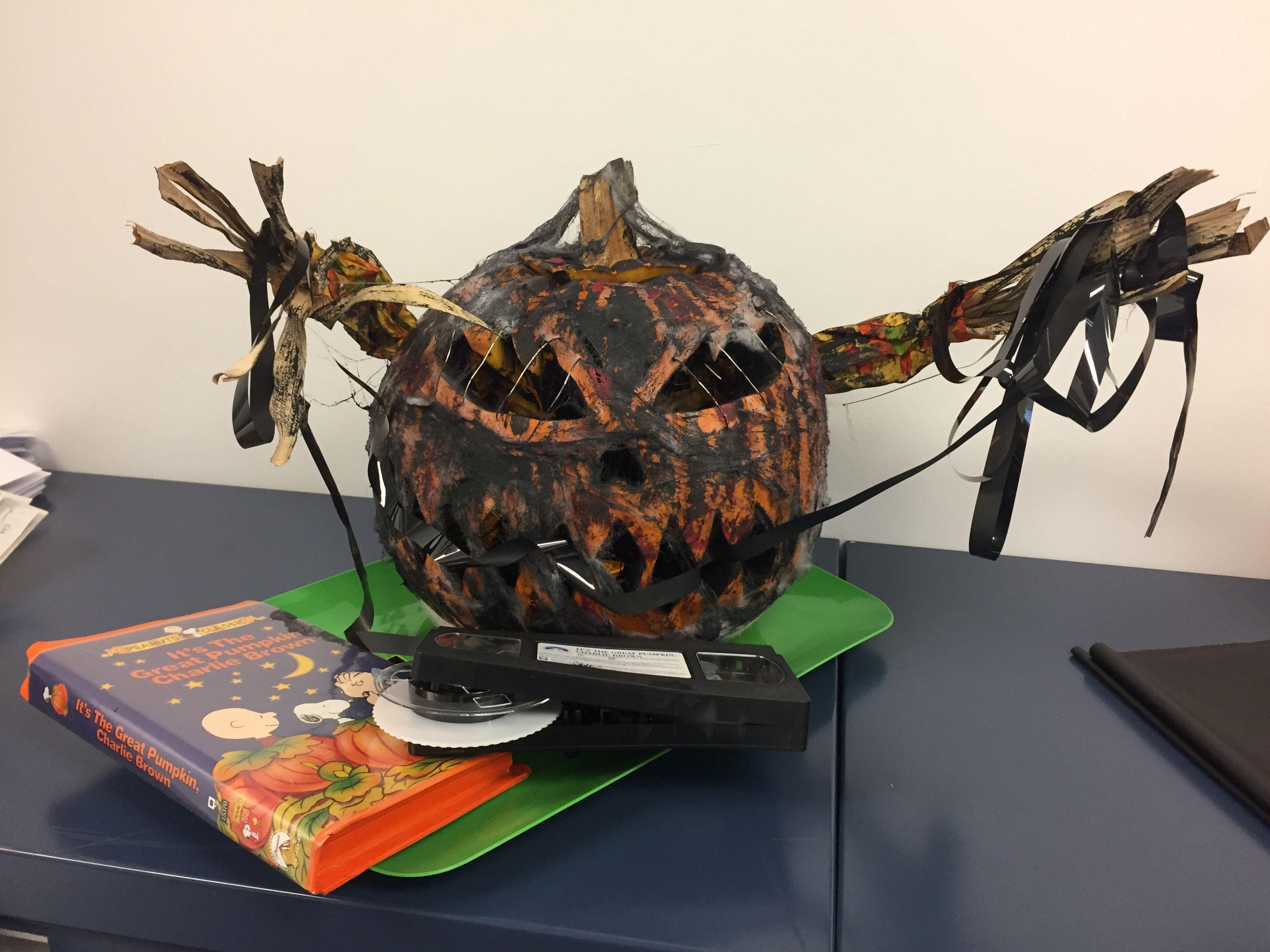 Burned pumpkin