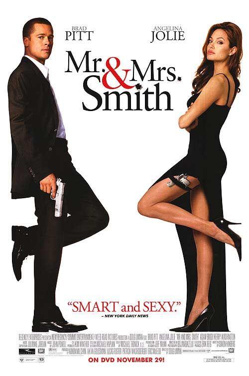 Mr And Mrs Smith Filmes Filme De Mulher Capas De Filmes