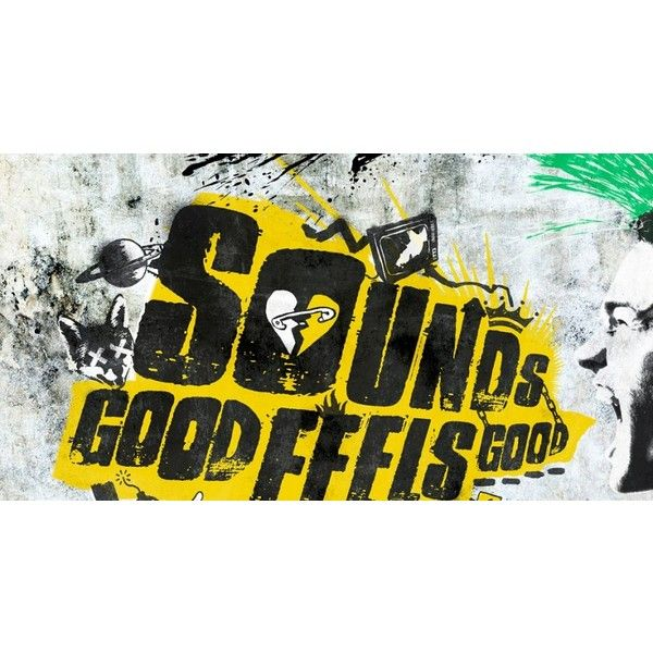 New Album Sounds Good Feels Good Liked On Polyvore Featuring