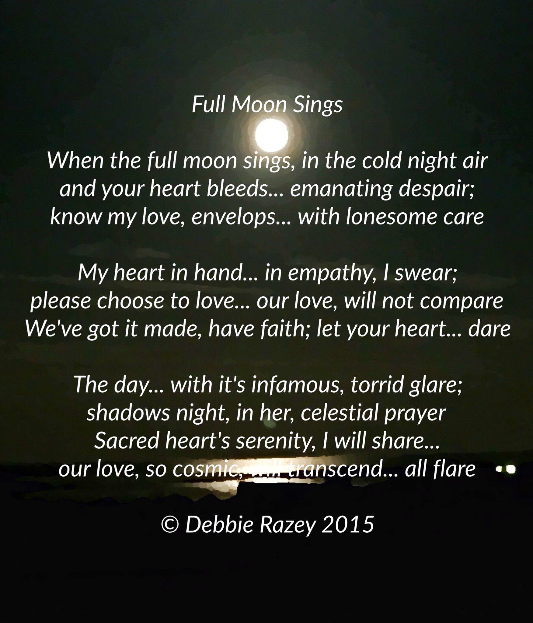 The Poetry of Elusive Love & Moonbeams