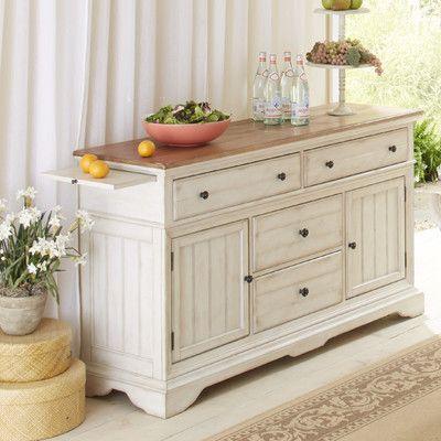 Cresent Furniture Cottage Sideboard U0026 Reviews   Wayfair