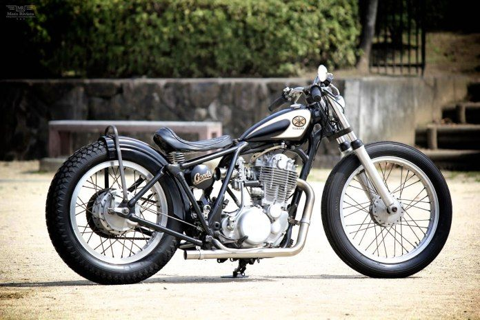SR400 No.176 / CANDY motorcycles in 2020   Yamaha sr400