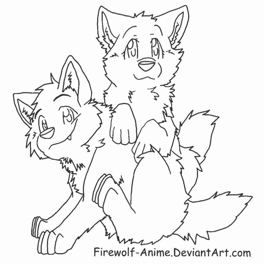 anime wolf couples coloring pages awesome Cute Anime Couples I Love You | Coloring Pages | Mcoloring  anime wolf couples coloring pages