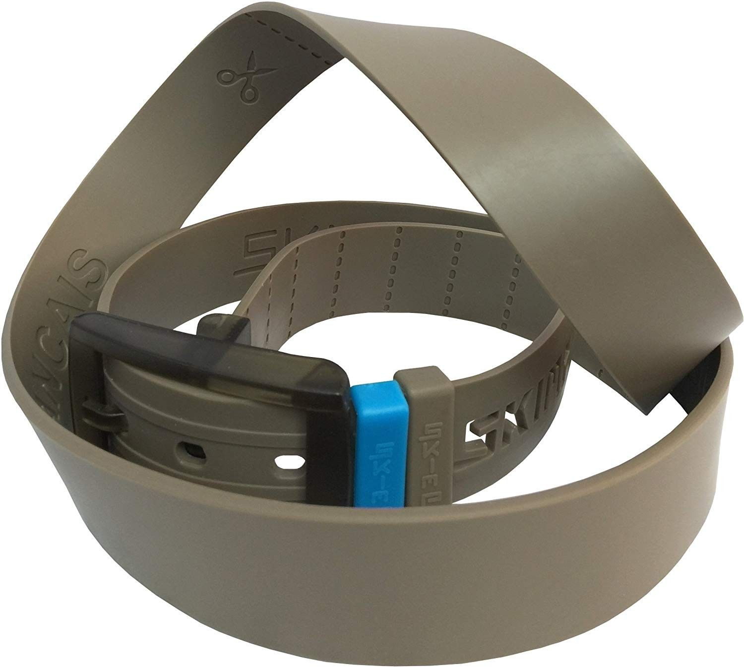Durable Rubber Belt - Metal Free and Waterproof - 100% Recycled Poly Blend - Weather Resistant - Bei...