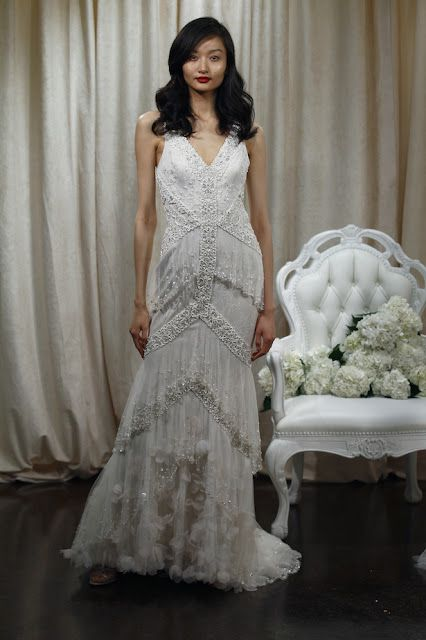 grandiosos vestidos de novias | colección badgley mischka | party