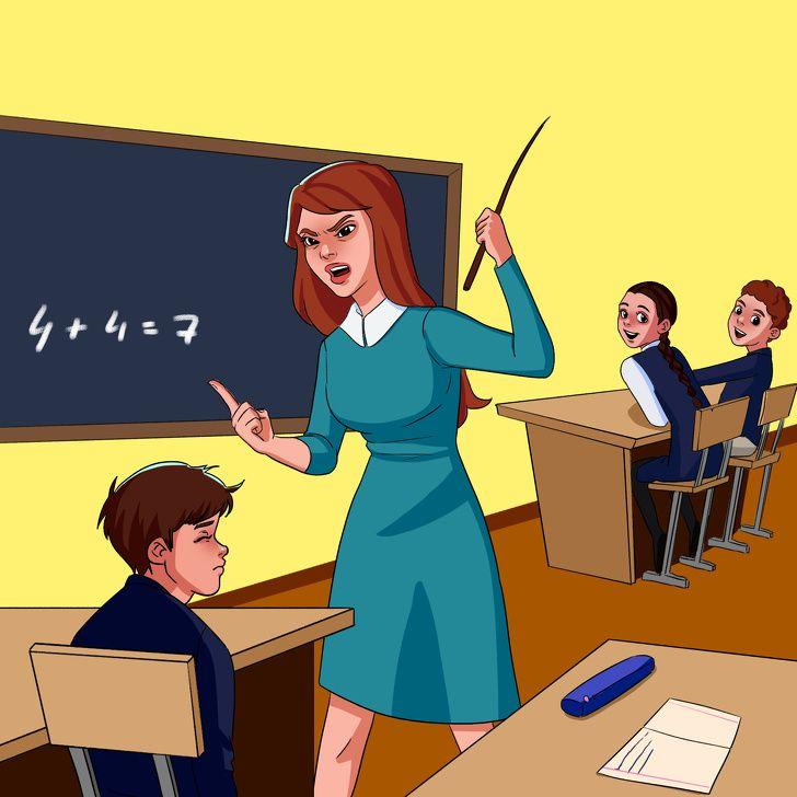 Учитель добрый и злой картинки