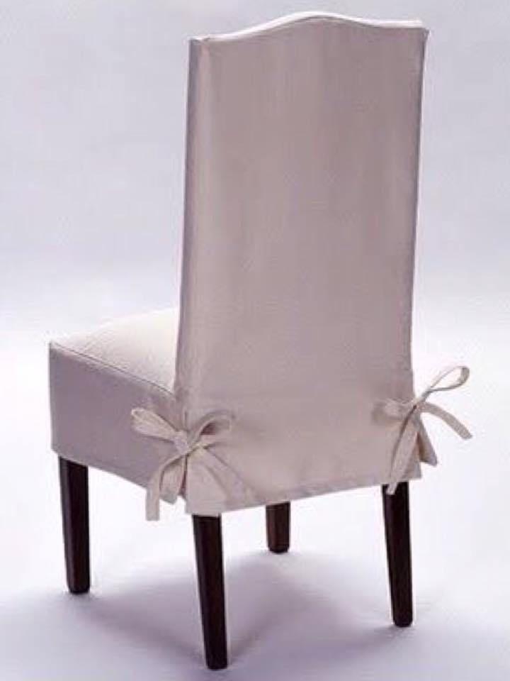 Todo El Mundo En La Casa Que Tienen Sillones O Sofás Que Con El Tiempo Pueden Mostrar Forros Slipcovers For Chairs Diy Chair Covers Dining Room Chair Covers