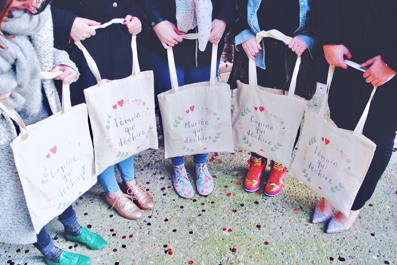 Fabulous Pack tote bags enterrement de vie de jeune fille, EVJF, bridal  QH52