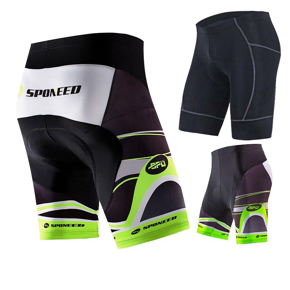 Men  Bike Shorts 4D Padded Quick Dry Road Biking Pants Half MTB Cycling Tights