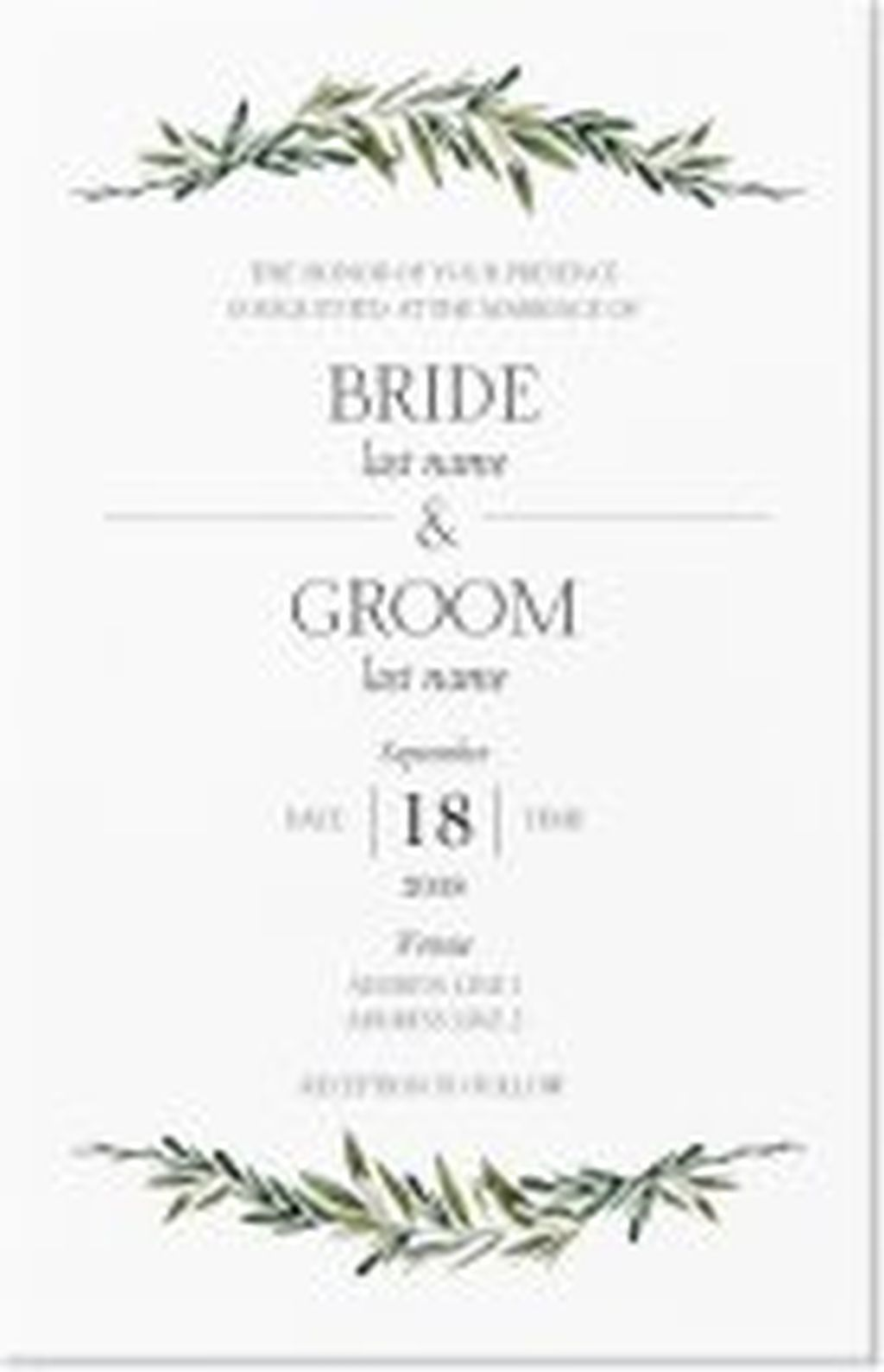 73 Beautiful And Romantic Forest Wedding Invitations Ideas Forest