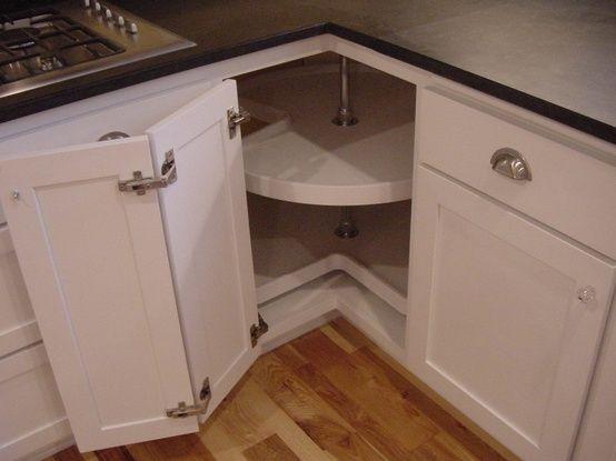 Corner Cabinet Idea With Images Corner Kitchen Cabinet
