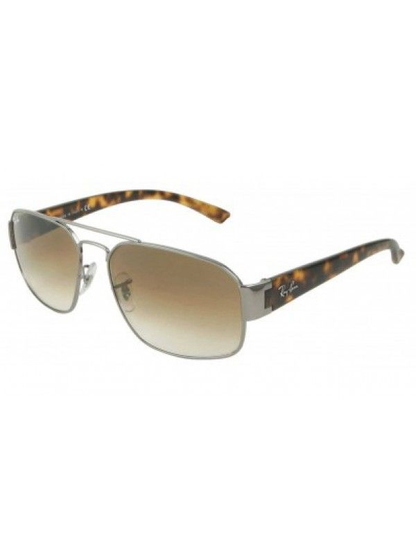 6fc8e75f00c Ray Ban 3427 004 51 Rectangle Gunmetal Metal  117.58