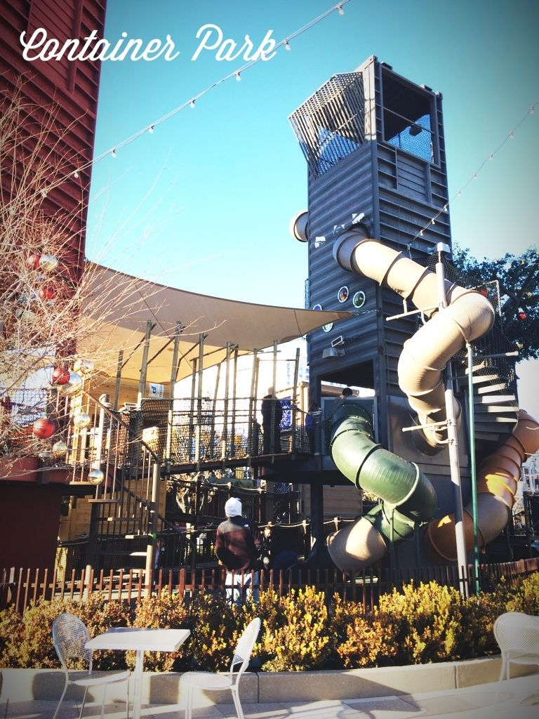 The Container Park in Las Vegas is a collection of ...