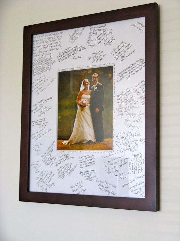 Our Wedding Quot Guestbook Quot Wedding Picture Frames Wedding