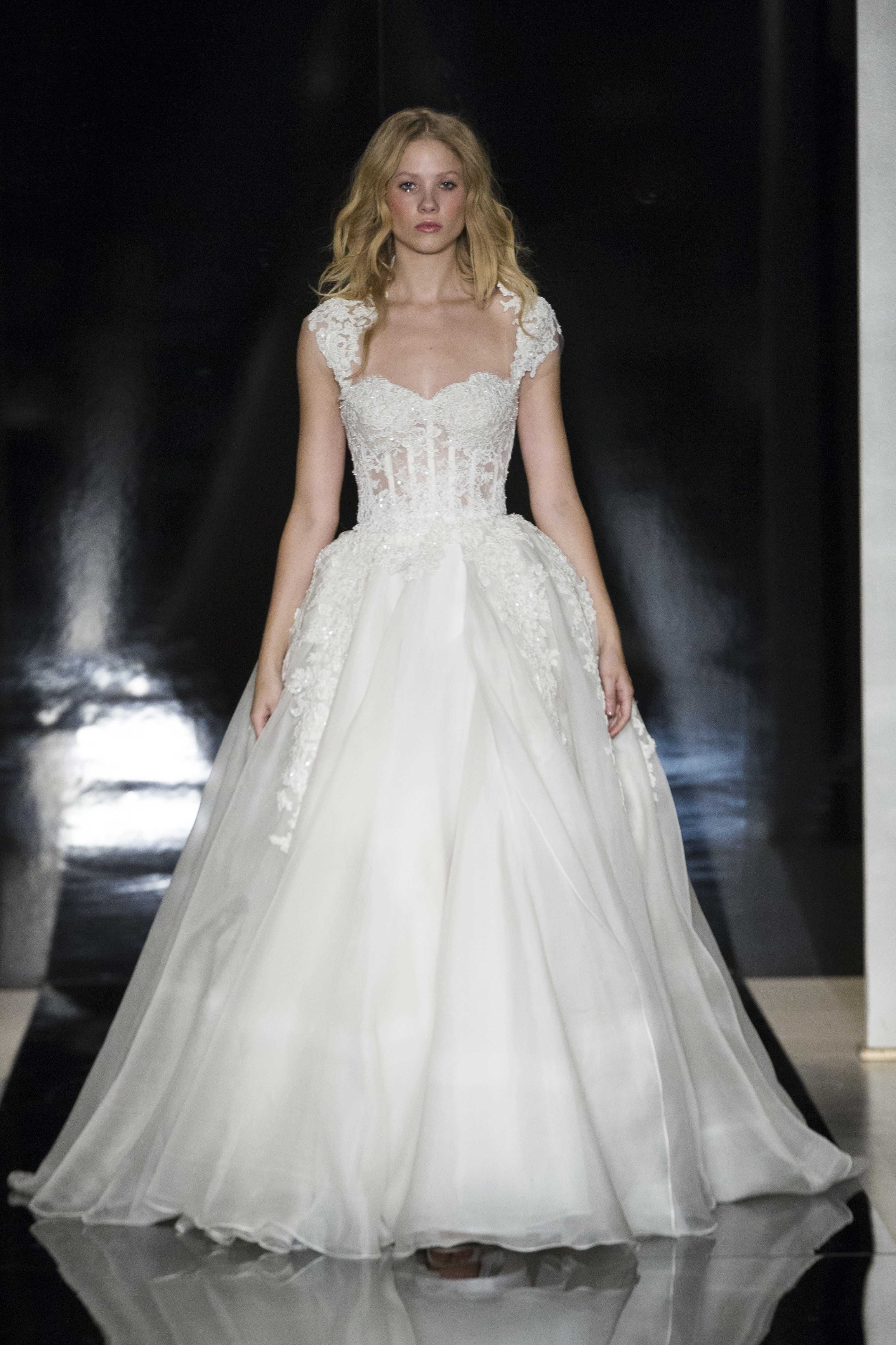 View entire slideshow: Reem Acra Spring 2017 Wedding Dresses on http://www.stylemepretty.com/collection/4911/