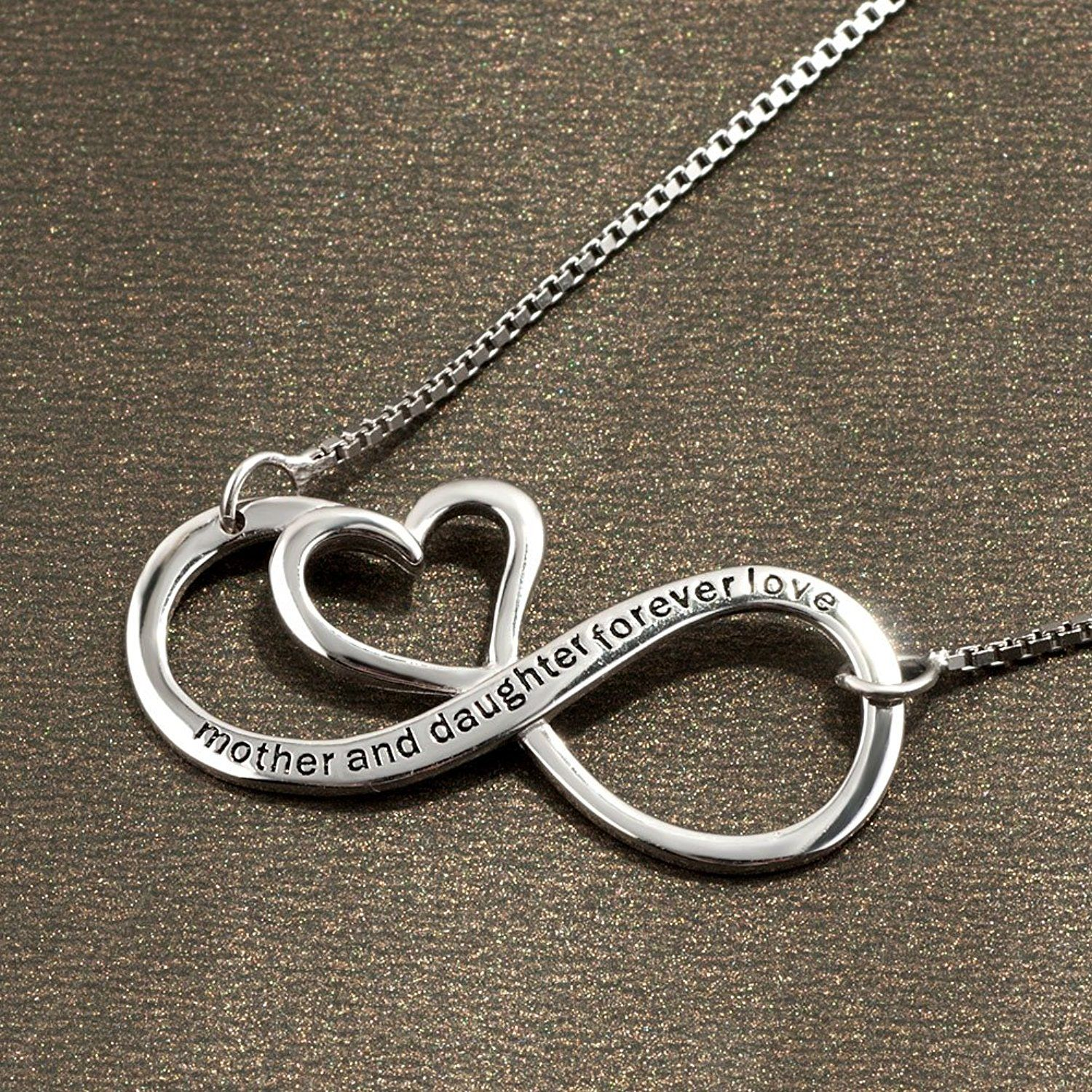 infinity set gold of infinite bracelet connection infinte and necklace mother ani daughter alex