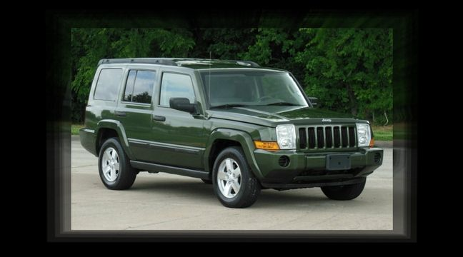Beautiful Jeep Commander 4x4! 3rd ROW SEATING, Rear A/C, LOW MILES, Great  Running V 6, Beautiful Tan Interior, Premium Sound System With CD Player,  ...