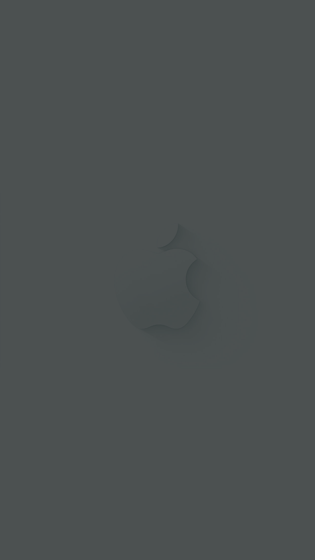 Apple hintergrund grau