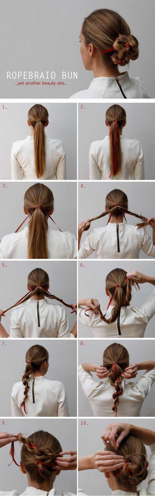 15 Spectacular Hairstyle Ideas Hair Tutorial Hair Styles Cute Everyday Hairstyles