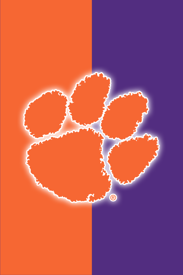 Clemson Tigers Iphone Wallpaper Pin By Isabellem On Clemson Roar Clemson Tigers Clemson