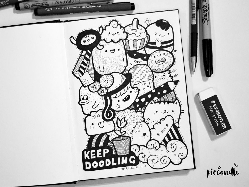 Keep Doodling Some Tips Video Cute Doodle Art Doodle Art