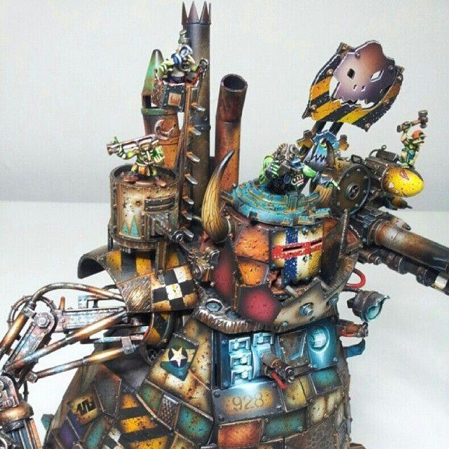 Metal Deffkopta Painted