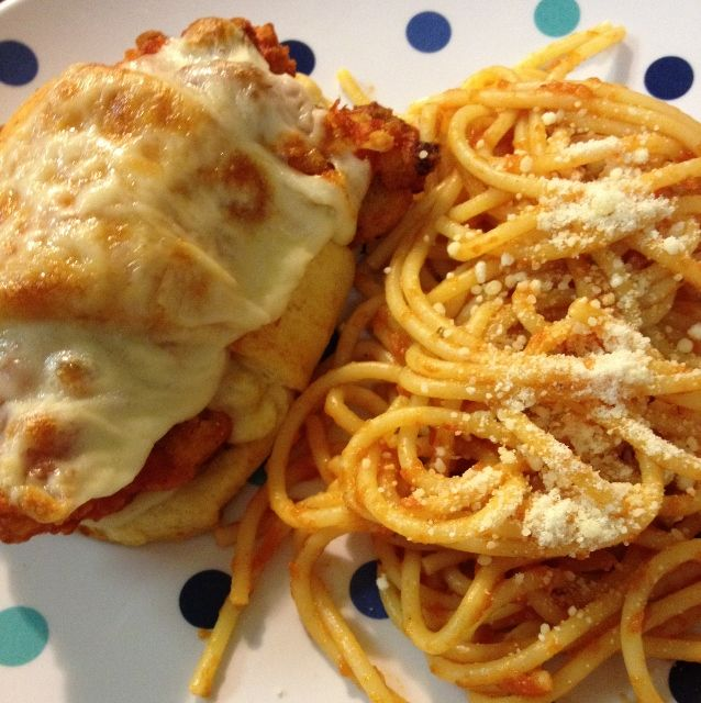 Chicken Parmesan Cresents
