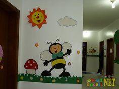 Arılar Duvar Süsleri - Okul Öncesi NET / Okul Öncesi Forum Sitesi